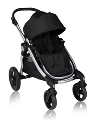 Baby Jogger City Select Stroller 2012 In Onyx Black