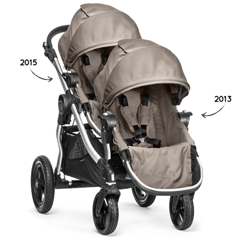 Baby Jogger City Select Double Stroller 2015 Frame 2013