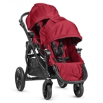 Baby Jogger City Select Double Stroller Red/Black Frame 2014 BJ23436, BJ03436