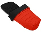 Baby Jogger Stroller Foot Muff in Red