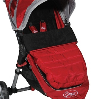 Car Seat Footmuff Compatible With Baby Jogger Citi Go Fire Red