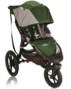 Baby Jogger Summit X3 Single Stroller - Green / Gray