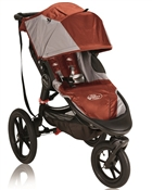 Baby Jogger Summit X3 Single Stroller - Orange / Gray