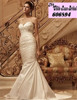The White Rose Bridal & Formal Wear 606894 Casablanca Bridal 2118