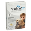 Sentinel Flavor Tabs For Dogs 51-100 lbs, White 6 Pack