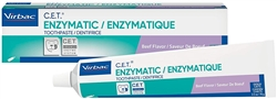 C.E.T. Tartar Control Enzymatic Toothpaste, Beef Flavor 2.5 oz