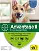 Advantage II For Extra Large Dogs Over 55 lbs, 6 Pack