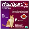 Heartgard Chewables For Cats 5-15 lbs, 6 Pack