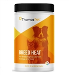 Thomas Labs Breed Heat for Dogs & Cats, 16 oz Powder