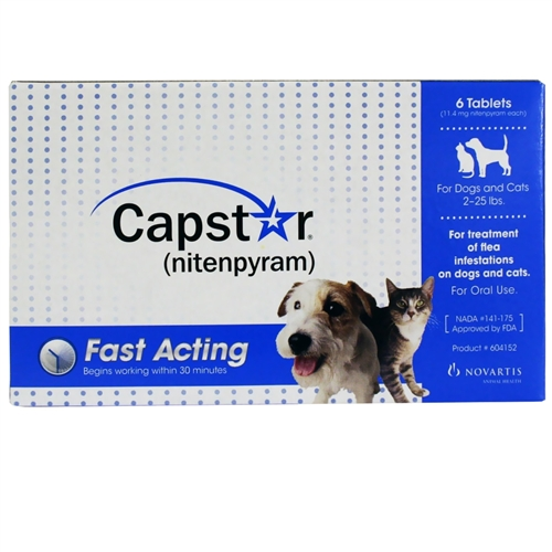 Capstar For Cats Dogs Flea Pill For Pets Medi Vet