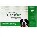 Capstar for Dogs over 25 lbs, 6 Tablets