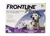 Frontline Plus for Dogs 45-88 lbs, Purple 3 Tubes