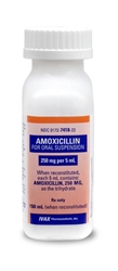 Amoxicillin Suspension 250 mg/5ml, 100 ml