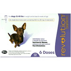 Revolution For Dogs 5-10 lbs, 6 Doses
