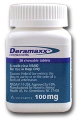 Deramaxx Chewable Tablets 100mg, 30 Tablets