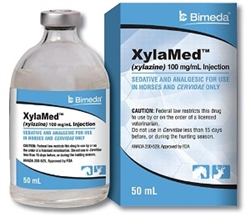 XylaMed (Xylazine) Injection 100mg/ml, 50 ml Vial
