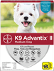 K9 Advantix II For Medium Dogs 11-20 lbs, 4 Pack