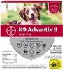 K9 Advantix II For Large Dogs 21-55 lbs, 4 Pack