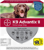 K9 Advantix II For Extra Large Dogs Over 55 lbs, 4 Pack