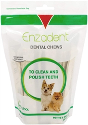 Vet Solutions Enzadent Oral Care Chews for Small Dogs, 30 Count