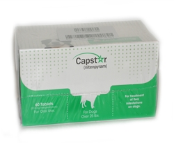 Capstar for Dogs over 25 lbs, 60 Tablets