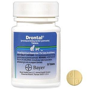 Drontal Dewormer For Cats Medi Vet