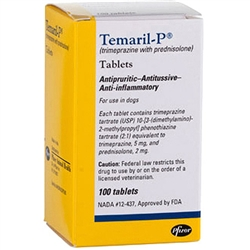Temaril-P, 100 Tablets