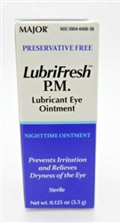 Artificial Tears Lubricant Ophthalmic Ointment, 1/8 oz