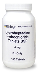 Cyproheptadine 4mg, 100 Tablets