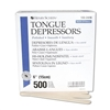 "Tongue Depressors, Non-Sterile Wood  6""x3/4"", 500 Count"