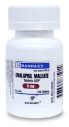 Enalapril 5mg, 100 Tablets