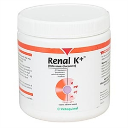 Renal K+ [Potassium Gluconate] Powder, 100 gram
