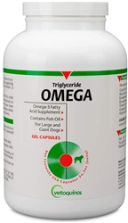 Omega Fatty Acids For Large & Giant Breed Dogs, 250 Capsules