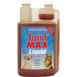 Joint MAX Liquid For Dogs, 32 oz.