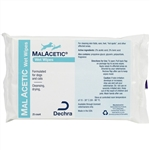 DermaPet MalAcetic Wet Wipes/Dry Bath,  25 Count