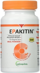 Epakitin Oral Powder (Chitosan-based Phosphate Binder) 2.16 oz (60 gm)