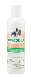 Mycodex Flea & Tick Shampoo P3 [Triple Strength Pyrethrin], 6 oz.