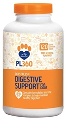 PetLabs360 DigestAbles For Dogs, 120 Tablets