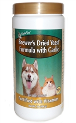 Brewer's Dried Yeast Formula With Garlic, 100 Tablets