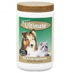 NaturVet Ultimate Skin & Coat Supplement, 14 oz.