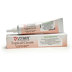 Zymox Topical Cream Hydrocortisone Free, 1 oz.