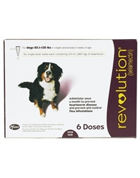 Revolution For Dogs 85.1-130 lbs, 6 Doses