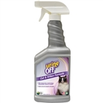 Urine Off Odor & Stain Remover For Cats, Veterinary Strength, 500 mL (16.9 oz)