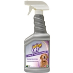 Urine Off Odor & Stain Remover for Dogs, Veterinary Strength, 500 ml (16.9 oz)