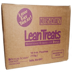 Covetrus NutriSentials Lean Treats for Dogs, 4 oz. Resealable Pouch, 10 Pack
