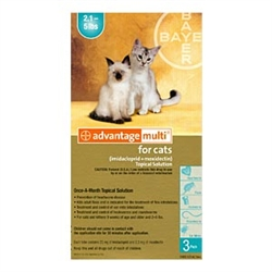 Advantage Multi For Cats 2-5 lbs, 3 Pack