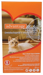 Advantage Multi For Cats 5-9 lbs, 6 Pack