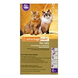 Advantage Multi For Cats 9-18 lbs, 12 Pack