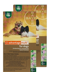 Advantage Multi For Dogs 3-9 lbs, 12 Pack