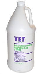 Vet Solutions Aloe & Oatmeal Shampoo, Gallon